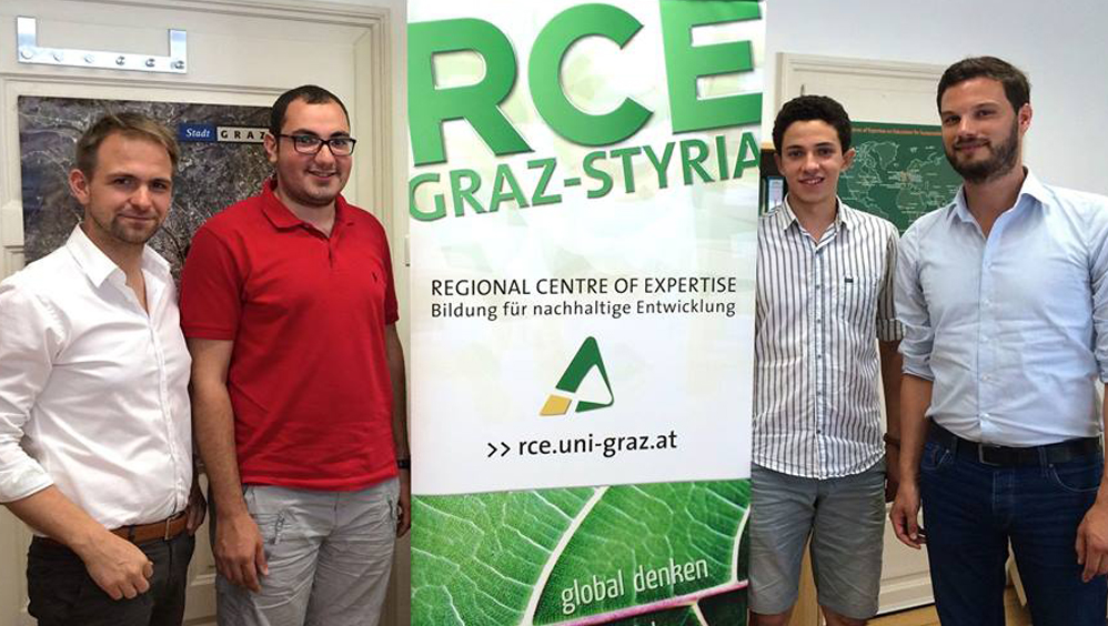 Students of Heliopolis University during their student exchange in Austria