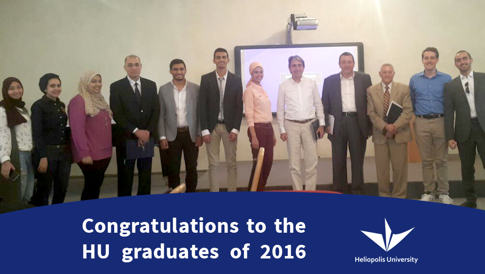 First Students Graduate from Heliopolis University