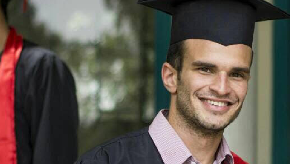 Graduation Picture of Ahmed Refaat