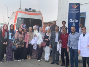 Faculty of Pharmacy sends A Medical Convoy to help the Neigboring Community