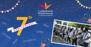 7th Anniversary of Heliopolis University Celebration