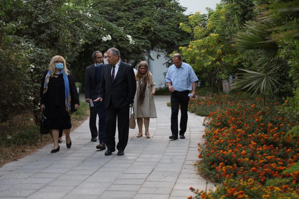 زيارة سفيرة سلوفينيا لجامعة هليوبوليس