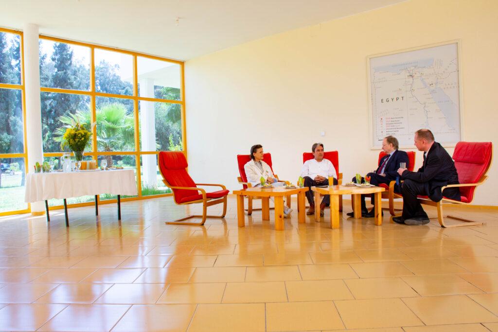 Ambassador Christian Berger, Head of the EU Delegation to Egypt,